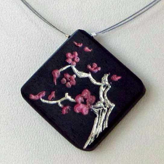collier cerisier ebene argent blue baobab